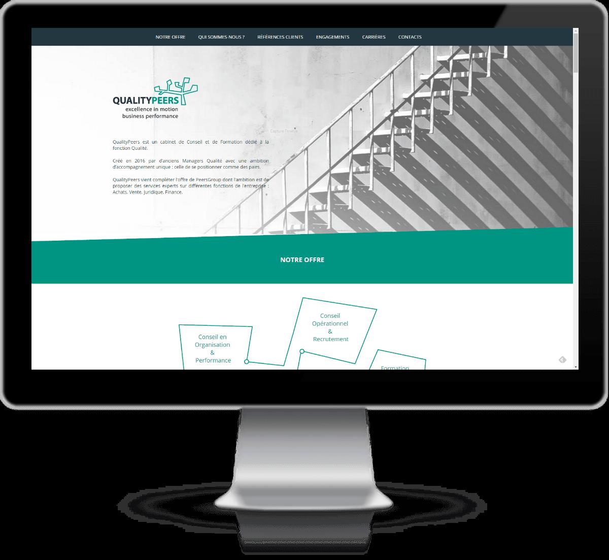 creation_site_web_quality_peers_Une